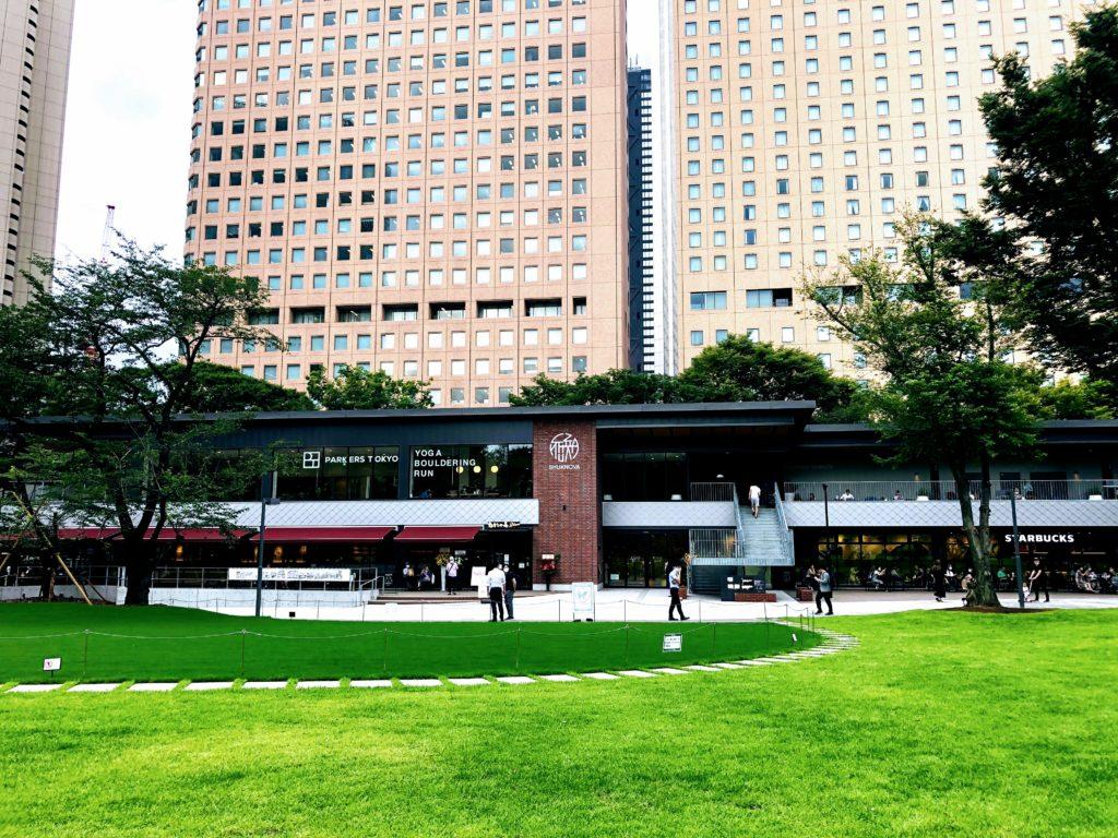 新宿中央公園 シュクノバ